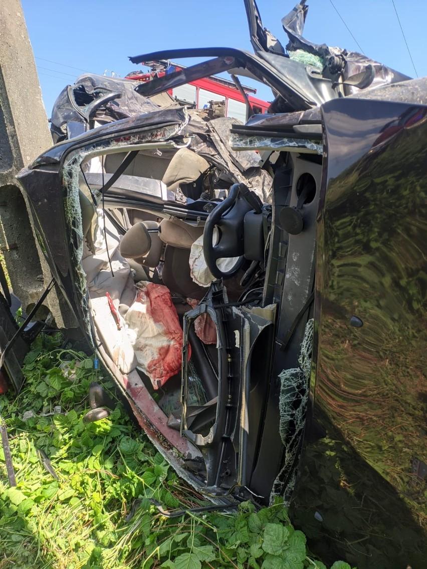 Tragiczny wypadek koło Żagania