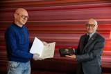 Nasz dziennikarz ekonomiczny Andrzej Matys dostał Ostre Pióro. Nagrodę przyznał mu Bussines Centre Club (zdjęcia)