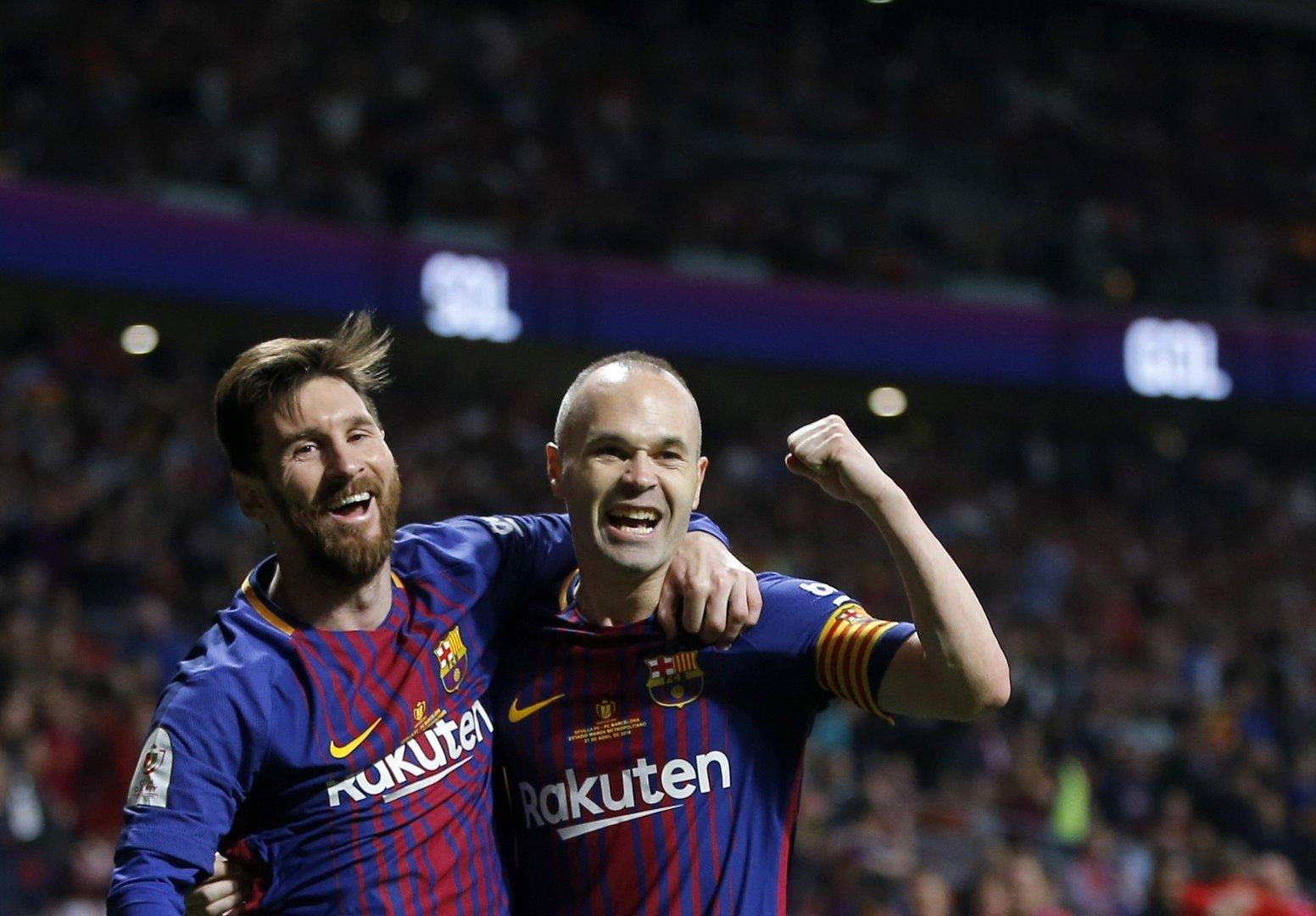 fd64acec7 Andres Iniesta żegna się po 22 latach z Barceloną, która może zostać ...