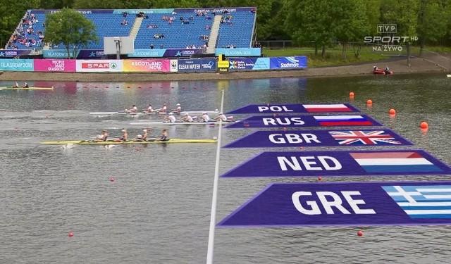 Ta finiszowała polska czwórka, która o 0,1 sekundy wyprzedziła Brytyjki