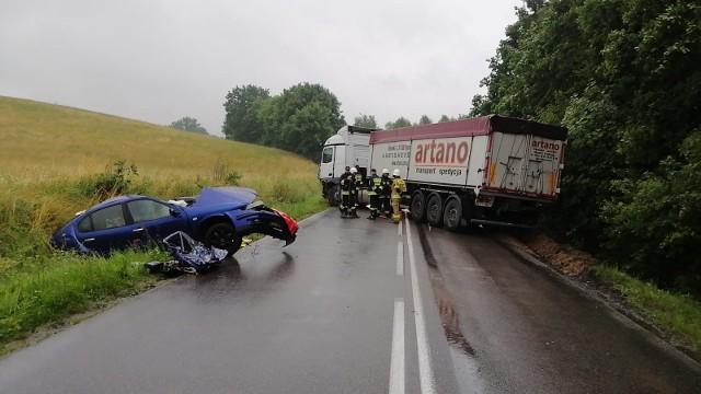 W miejscowości Udorpie w czwartek, 9.07.2020 r. doszło do tragicznego wypadku, w wyniku którego zmarła jedna osoba