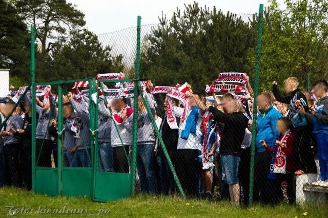 Kibice Łódzkiego Klubu Sportowego nie zostaną oficjalnie przyjęci na obiekcie w Nieborowie.