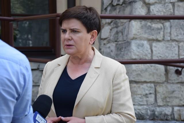 Beata Szydło, była premier a obecnie eurodeputowana, została powołana w skład Rady Państwowego Muzeum Auschwitz-Birkenau