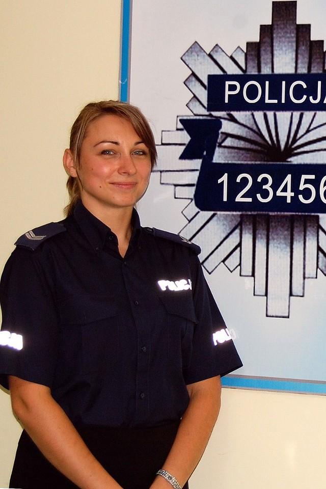 Aby zagłosować na st. sierż. Magdalenę Wilczyńską wyślij SMS o treści POLICJANT.12 na numer 7155 (koszt 1.23 zł z VAT)
