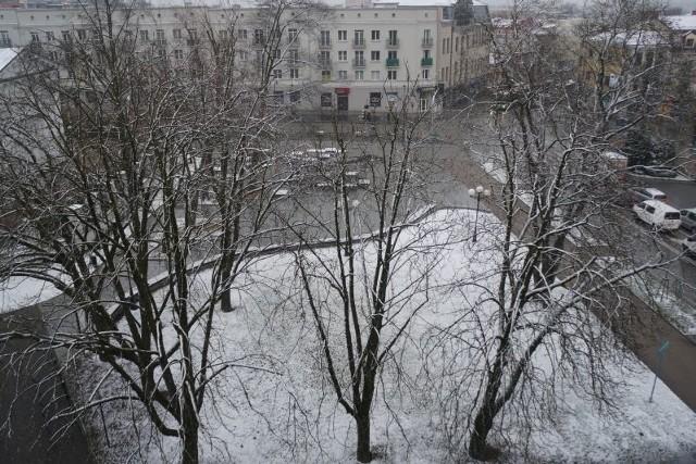 W Białymstoku o godzinie 6 rano synoptycy odnotowali jeden stopień poniżej 0.