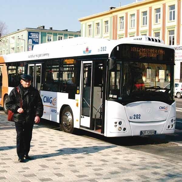 Tym razem MKS testował autobus z firmy Jelcz.