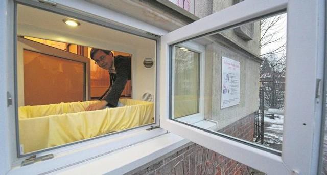 Okno życia w Domu Samotnej Matki przy ulicy Wojska Polskiego 13 w Koszalinie utworzono 12 lat temu.
