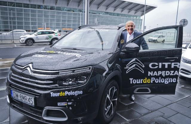 Prezentacja samochodów na 78. Tour de Pologne