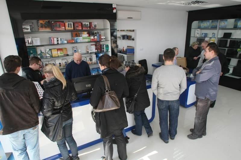 Na otwarcie nowego salonu Kwark Komputer przygotowano dla klientów niezwykłe ceny i wyjątkowe rabaty.