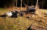 Tragiczny wypadek na trasie Szczyty Nowodwory - Krzywa. 17-latek zginął na miejscu (zdjęcia)