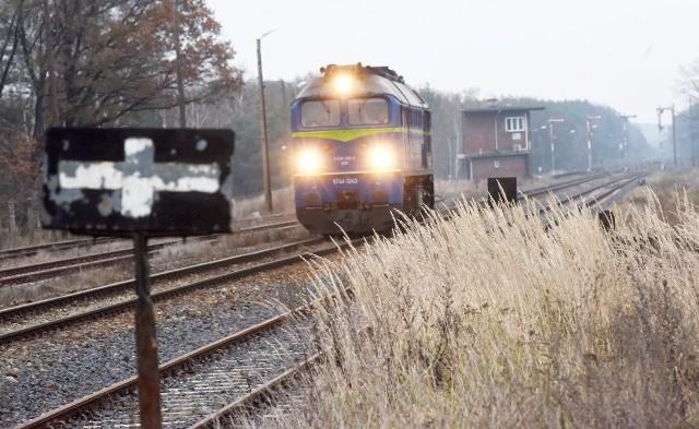 Infrastruktura kolejowa w Gubinie jest w kiepskim stanie.