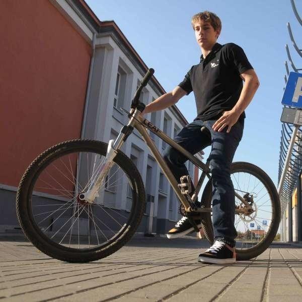 Paweł Hreczuch ze stowarzyszenia Pro-Ro: - W naszym wniosku do władz miasta prosimy o trzy ścieżki.