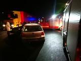Wypadek w miejscowości Cedry Małe [18.12] Doszło do zderzenia dwóch samochodów. Poszkodowane dziecko