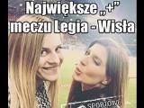 Wisła Kraków z Legią Warszawa na remis. Mam tak samo, jak Ty - Ligę Mistrzów w TV MEMY 1.05