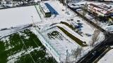 Kolejna zmiana terminu ukończenia budowy stadionu przy Bandurskiego w Szczecinie. ZDJĘCIA