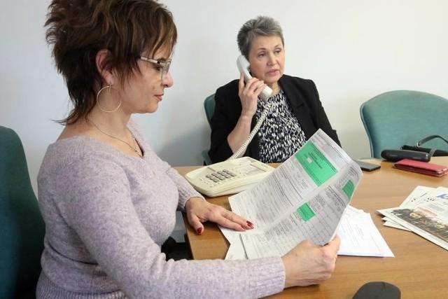 W najbliższą środę na pytania Czytelników odpowie Marta Szpakowska z Izby Administracji Skarbowej w Lublinie (z prawej) i Elżbieta Michno z Pierwszego Urzędu Skarbowego w Lublinie