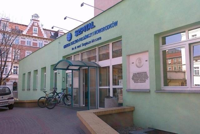 Szpitala przy ul. Reymonta w Opolu, gdzie na świat przyszły bliźniaczki Bartłomieja Bonka