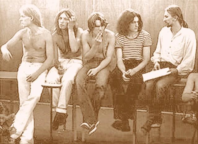 TSAw oryginalnym składzie z 1981 roku, wszyscy byliśmy wtedy hipisami