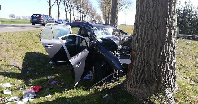 Do wypadku doszło na trasie Słupsk-Ustka.