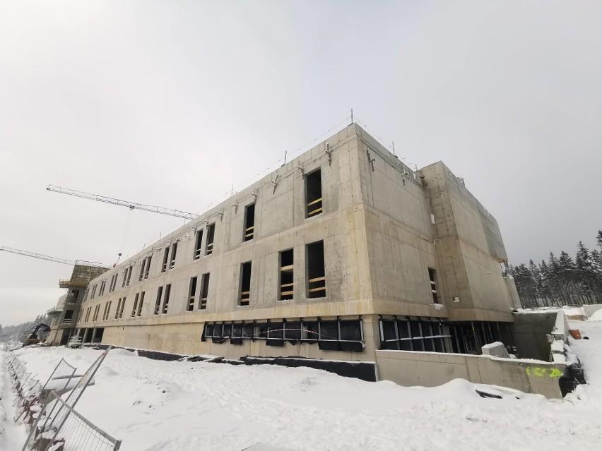 Dolnośląskie Centrum Sportu w Jakuszycach rośnie w oczach...
