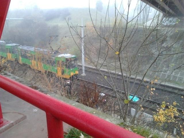 Kobieta, która zginęła pod kołami tramwaju, prawdopodobnie popełniła samobójstwo