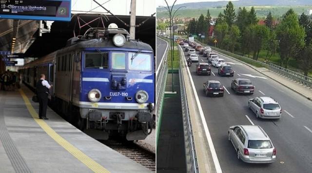 Powrót z Zakopanego do Krakowa na koniec długiego weekendu zajmował nawet sześć godzin. W korku na zakopiance utknęły m.in. autobusy z pasażerami pociągów