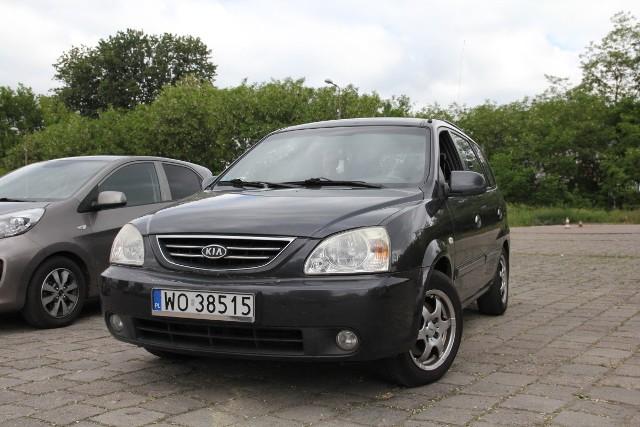 Kia Carens, rok 2004, 2,0 benzyna+gaz, cena 6000 zł