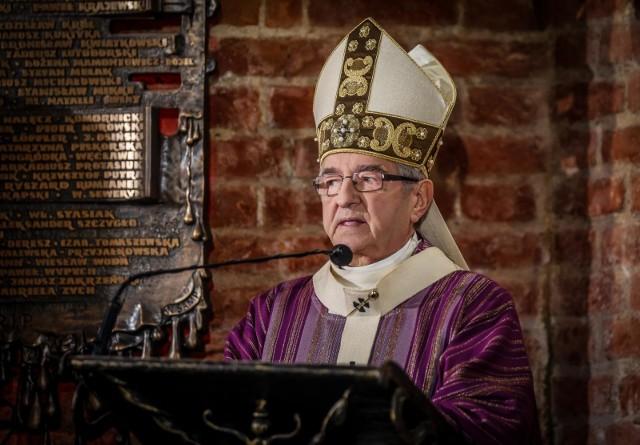 Arcybiskup Sławoj Leszek Głódź, metropolita gdański