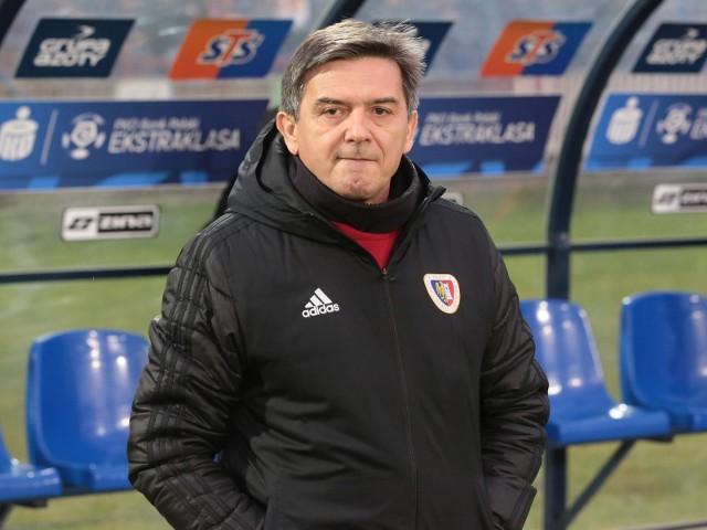 Waldemar Fornalik jest trenerem Piasta od września 2017 roku.