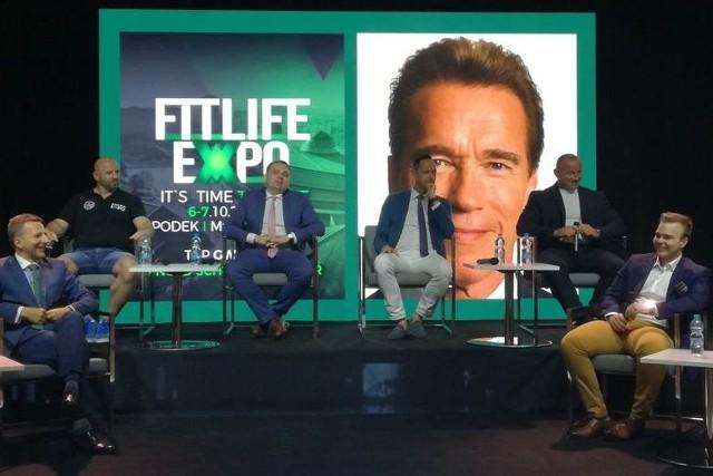 Na konferencji prasowej w sierpniu 2018 przedstawiono program Fit Life Expo i jego główną gwiazdę, czyli Arnolda Schwarzeneggera.