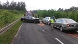Wypadek między Wędrzynem, a Sulęcinem. Cztery osoby w szpitalu [ZDJĘCIA]