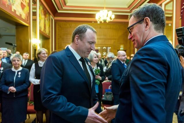 Działali na rzecz odzyskania przez Polskę niepodległości i suwerenności. Dziś w Bydgoszczy zostali uhonorowani Krzyżami Wolności i Solidarności.
