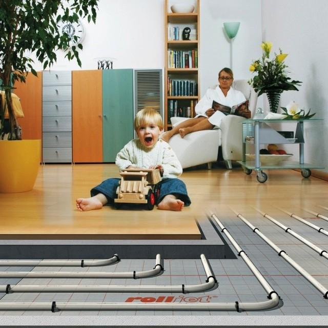 Na ogrzewaniu podłogowym najlepiej sprawdzają się podłogi z kamienia i posadzki ceramiczne