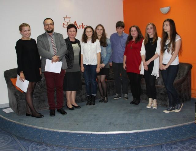 Wszyscy laureaci konkursu radomskiej Arki.