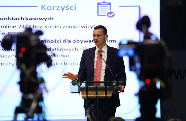 Premier Mateusz Morawiecki jest pomysłodawcą Pracowniczych Programów Kapitałowych