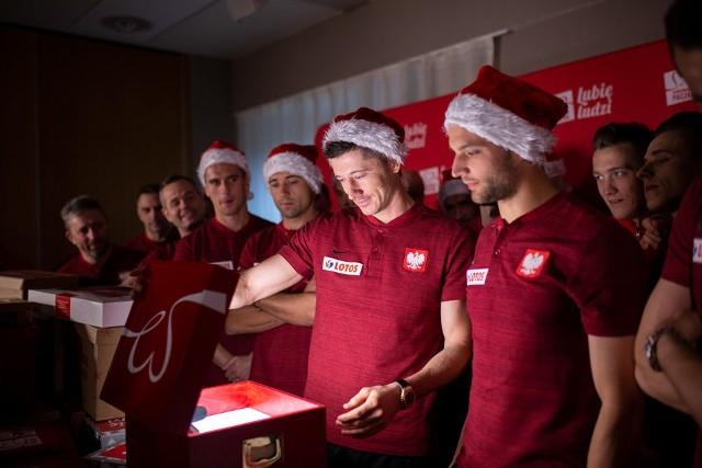 Reprezentanci Polski przygotowali Szlachetną Paczkę