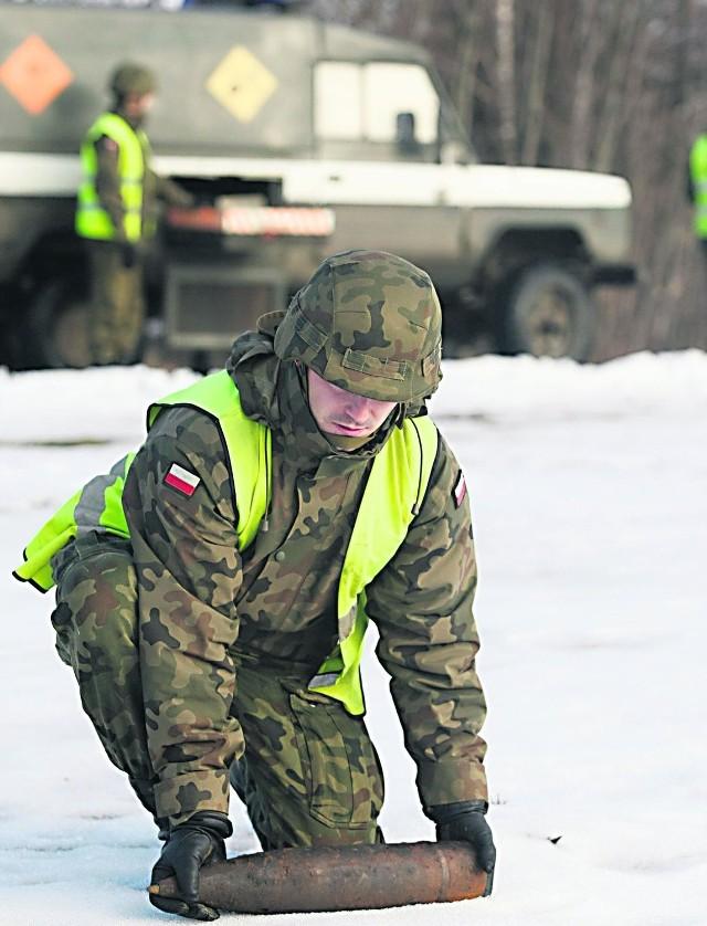 Wrocławscy saperzy cieszą się zasłużenie renomą znakomitych fachowców od ładunków wybuchowych