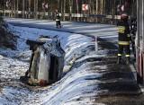 Wypadek na drodze krajowej nr 21 koło Miastka (wideo, zdjęcia)
