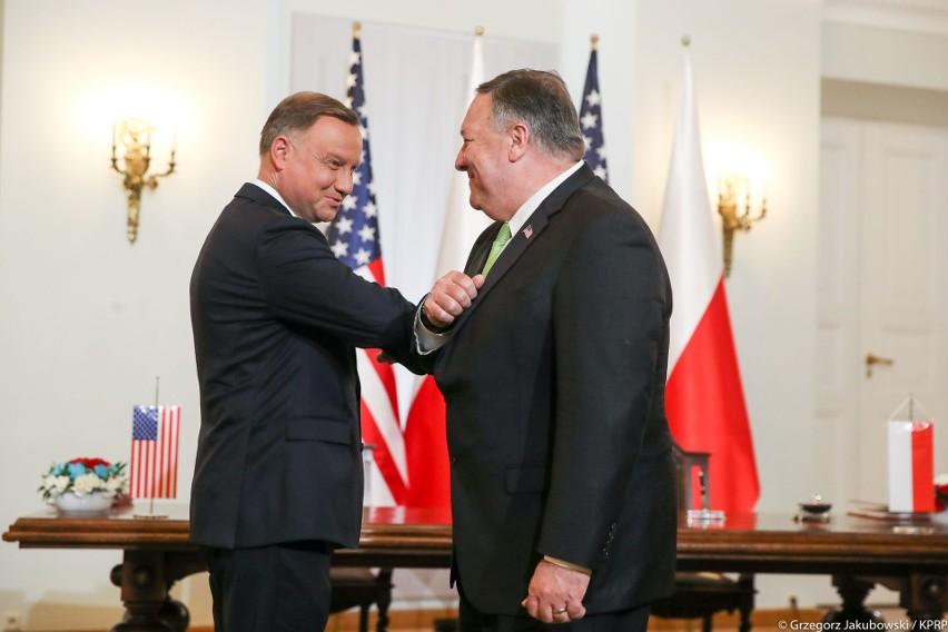 - Ta wizyta ma wielkie znaczenie z dwóch powodów: praktycznego i symbolicznego – powiedział Andrzej Duda.