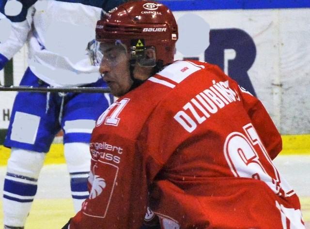 Krystian Dziubiński otworzył konto bramkowe Polaków w premierze turnieju EIHC w Budapeszcie.