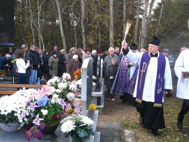 Cmentarz w Boćkach.
