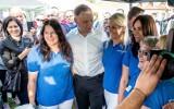 Andrzej Duda: najlepsze zdjęcia ze zwolennikami z kampanii