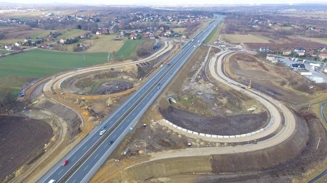 Węzeł A4 pozwoli dojechać szybciej do Niepołomic