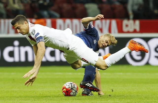 Robert Lewandowski zdobył swoje kolejne gole w reprezentacji.