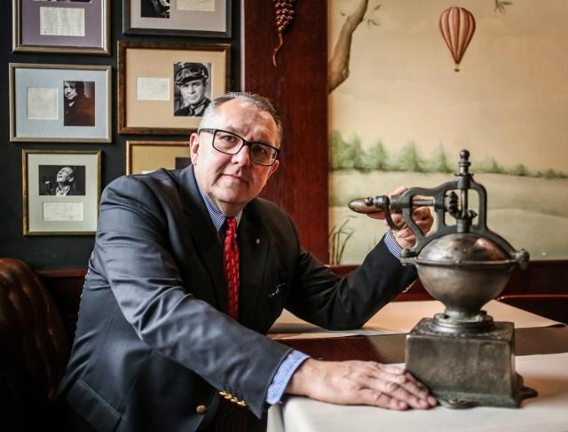Tadeusz Kulczycki, gdański restaurator, szuka śladów swojego sławnego przodka w Europie i z dumą opowiada o losach rodziny