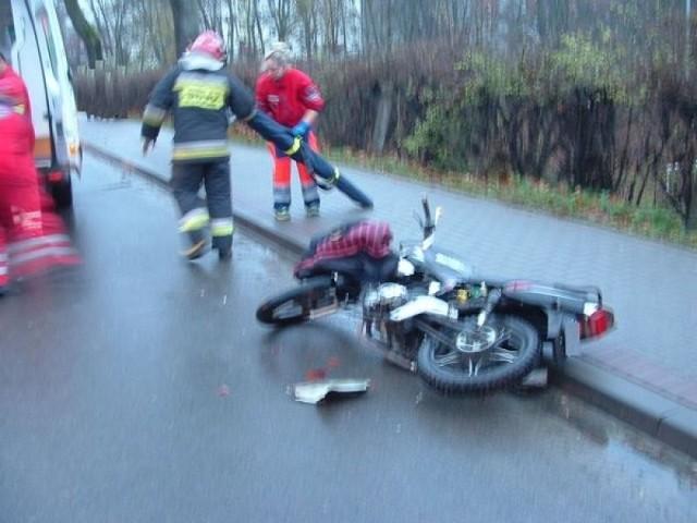 Przyczyny wypadku wyjaśnia mrągowska policja.