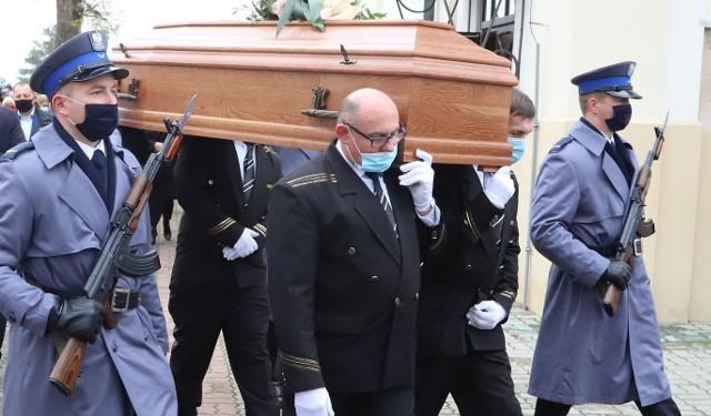 Pogrzeb Krzysztofa Jabłonki w Kowali.
