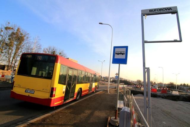 Zmiana rozkładu jazdy linii 110 na Jagodno