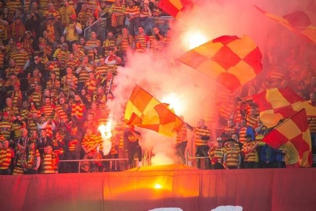 2 maja 2019: Jagiellonia Lechia 0:1 w finale Pucharu Polski. Tak było w Warszawie na Stadionie Narodowym.