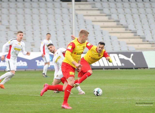 Korona Kielce przegrała z Sandecją Nowy Sącz 1:2.